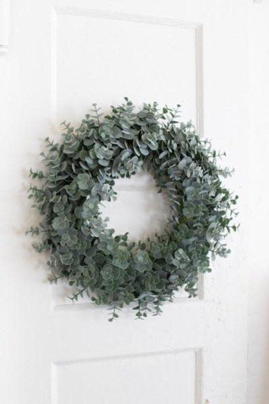 Kalalou Artificial Eucalyptus Wreath