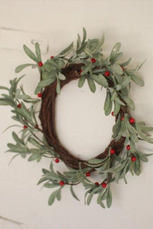 Kalalou Artificial Mistletoe Wreath