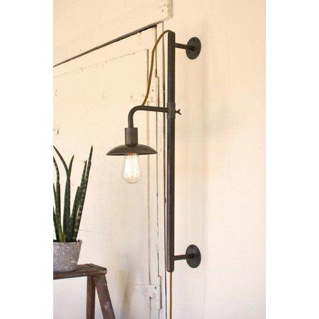 Kalalou Vertical Sliding Wall Lamp
