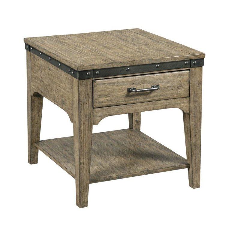 Kincaid Artisans Rectangular Drawer End Table