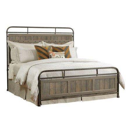 Kincaid Mill House Folsom King Metal Bed - Complete