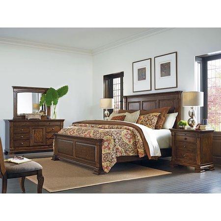 Kincaid Monteri King Panel Bed - Complete