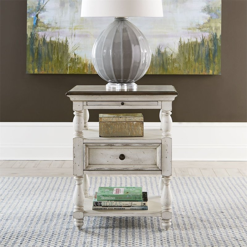 Liberty Abbey Road Drawer End Table