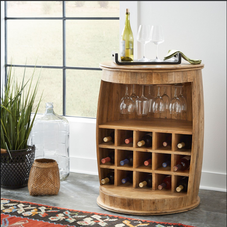 Liberty Accent Wine Barrel