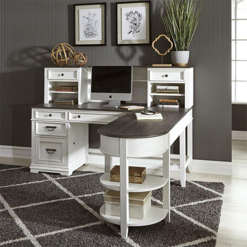 Liberty Allyson Park L Shaped Desk Set