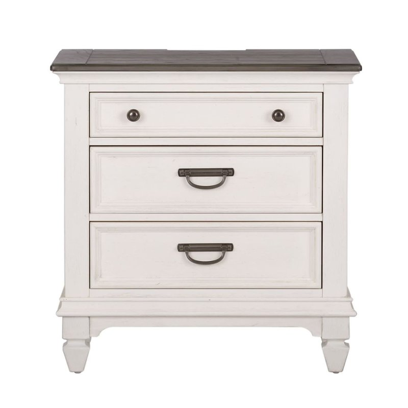 Liberty Allyson Park Night Stand w/ Charging Station