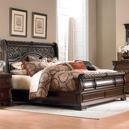Liberty Kings Row King Sleigh Bed