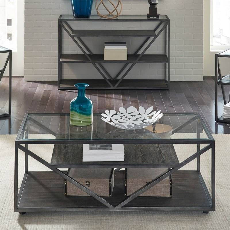 Liberty Arista Rectangular Cocktail Table