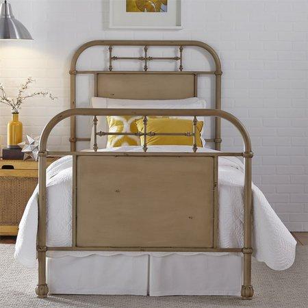 Liberty Full Metal Bed - Vintage Cream