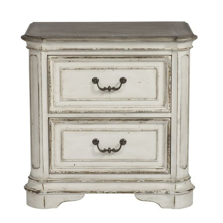 Liberty Magnolia Manor 2 Drawer Night Stand