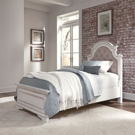 Liberty Magnolia Manor Full Upholstered Bed