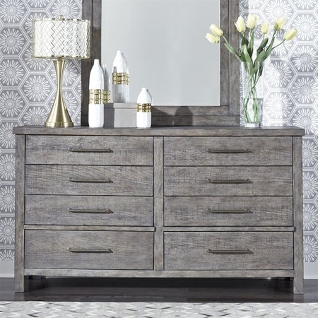 Liberty Modern Farmhouse 8 Drawer Dresser