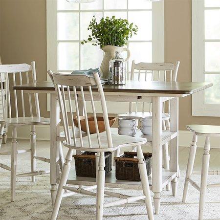 Liberty Oak Hill Kitchen Island Table
