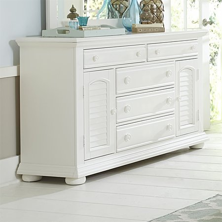Liberty Summer House 2 Door 5 Drawer Dresser