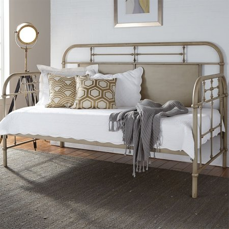 Liberty Vintage Series Twin Metal Day Bed - Vintage Cream