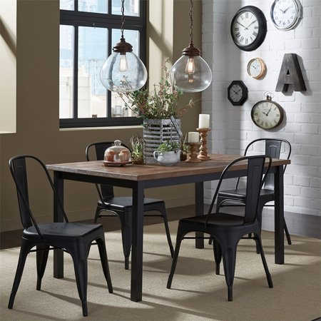 Liberty Vintage Series Opt 5 Piece Rectangular Table Set