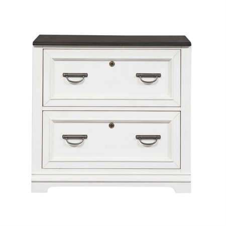 Liberty Allyson Park Bunching Lateral File Cabinet