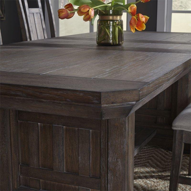 Liberty Artisan Prairie Opt 6 Piece Trestle Table Set