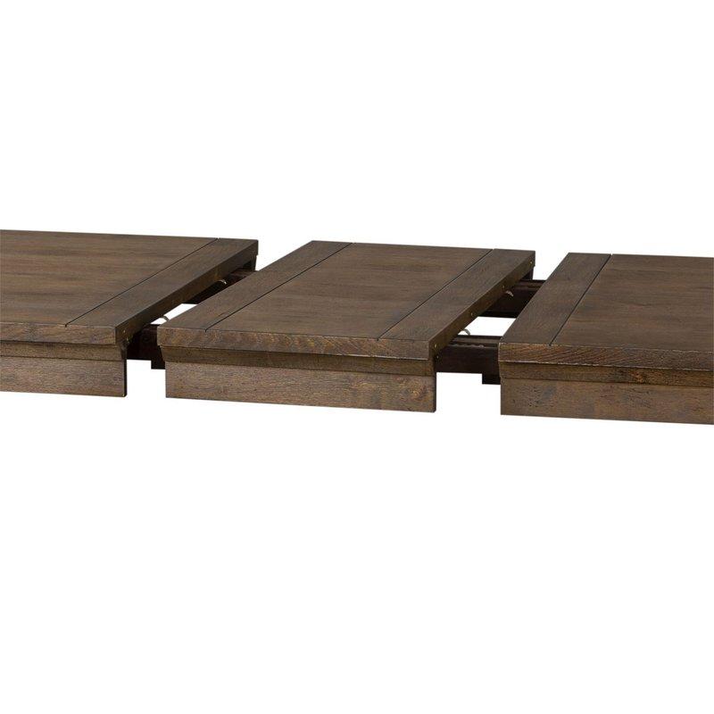 Liberty Artisan Prairie 7 Piece Rectangular Table Set