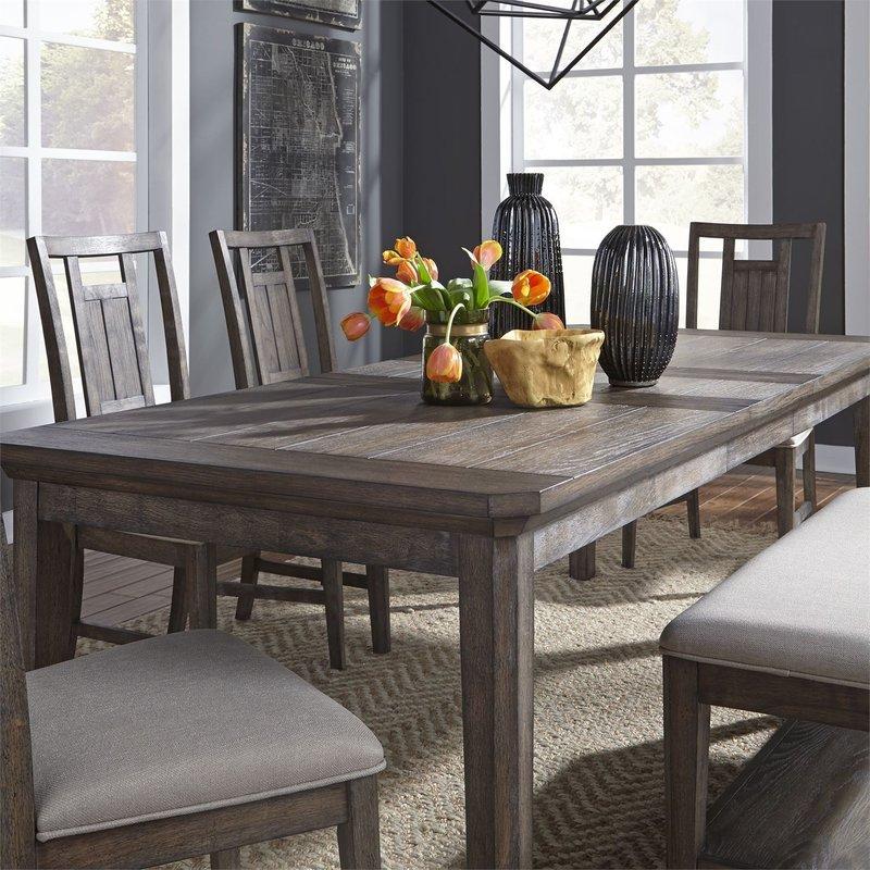 Liberty Artisan Prairie 6 Piece Rectangular Table Set