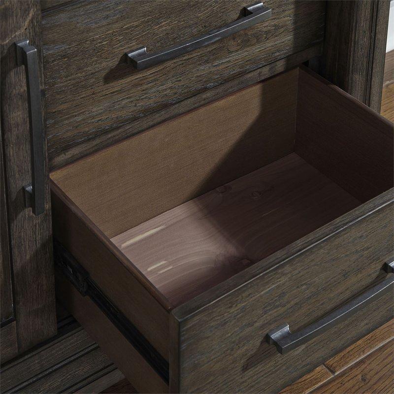 Liberty Artisan Prairie 6 Drawer 2 Door Chesser