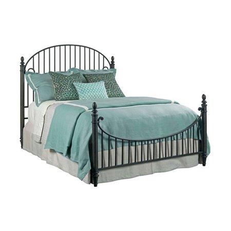 Kincaid Weatherford Catlins King Metal Bed - Complete