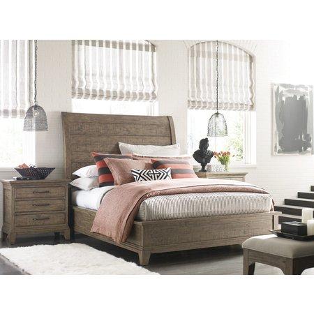 Kincaid Eastburn Sleigh Queen Bed - Complete