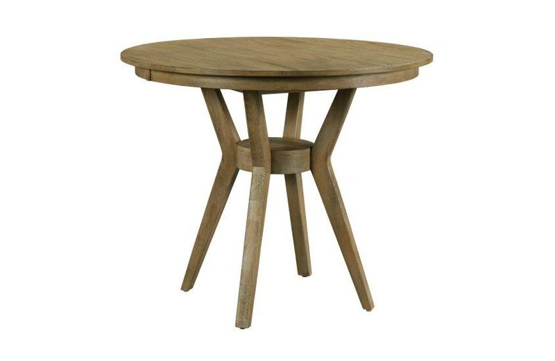"""Kincaid 54"""" Round Counter Height Dining Table Complete"""