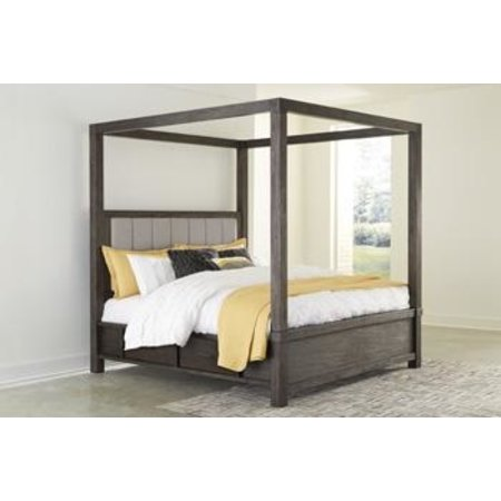 Ashley Furniture Queen Canopy Bed