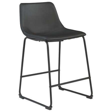 Ashley Furniture Black Uph Barstool OUTLET