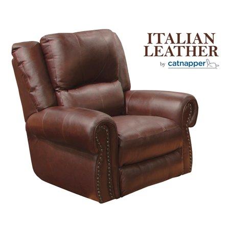 Catnapper Messina Power Headrest Lay Flat Recliner
