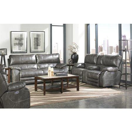 Catnapper Sheridan Power Headrest Power Lay Flat Reclining Sofa