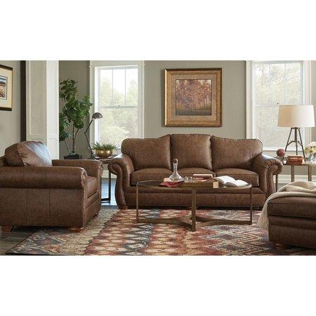 Craftmaster Elliott Leather Sofa