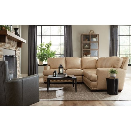 Craftmaster Truitt Leather Sectional