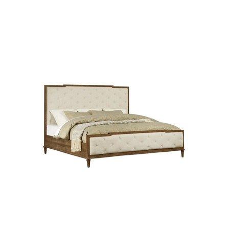 Emerald Home Pennington Complete King Upholstered Bed