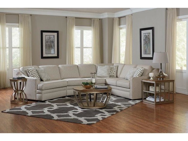 England Furniture 4T00 Thomas Sectional (Stock)