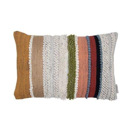 Foreside Home and Garden Hand Woven APA Pillow
