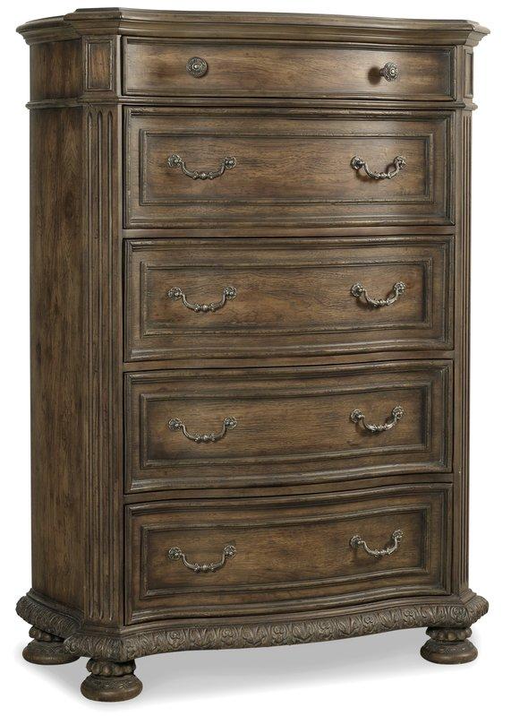 Hooker Furniture 5070-90010 Five Drawer Chest