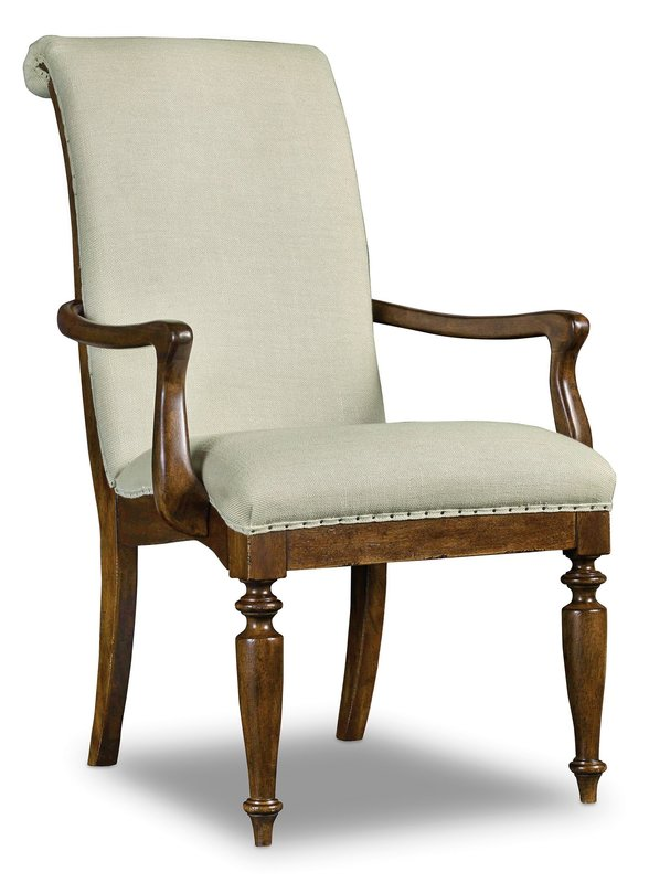 Hooker Furniture Arch Upholstered Arm Chair