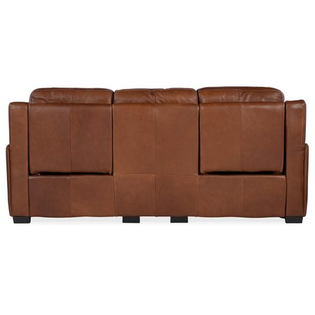 Hooker Furniture Lincoln Power Recline Sofa w/ Power Headrest &Lumbar Recline