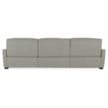 Hooker Furniture Reaux Power Motion Sofa w/ LAF Chaise w/2 Power Recline