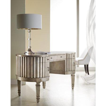 Hooker Furniture Melange Fluted Kidney Desk