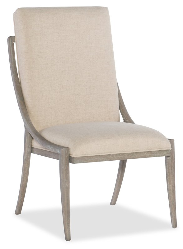 Hooker Furniture Affinity Slope Side Chair - 2 per carton/price ea