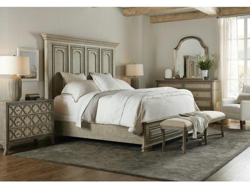 Hooker Furniture Alfresco Leonardo King Mansion Bed