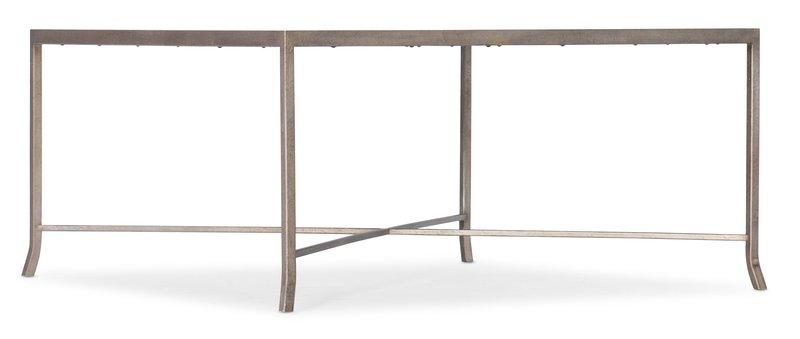 Hooker Furniture Alfresco Lapilli Carved Top Cocktail Table
