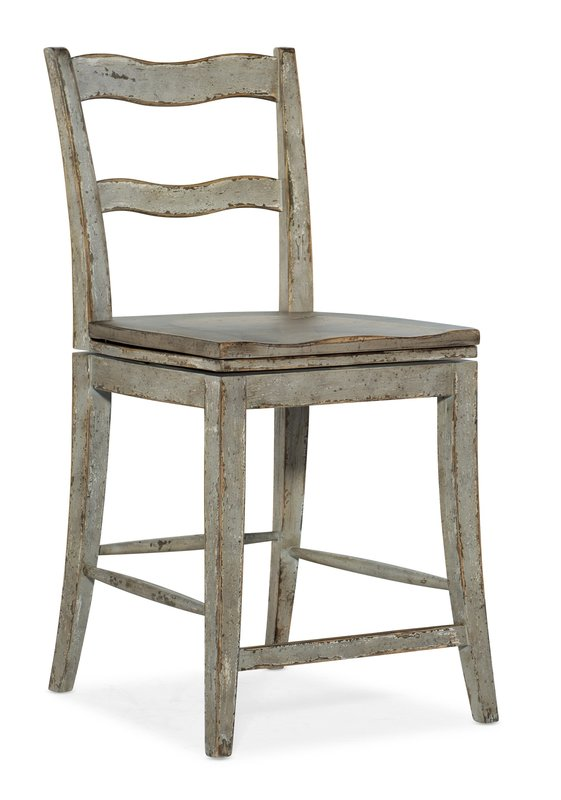 Hooker Furniture Alfresco La Riva Ladder Back Swivel Counter Stool