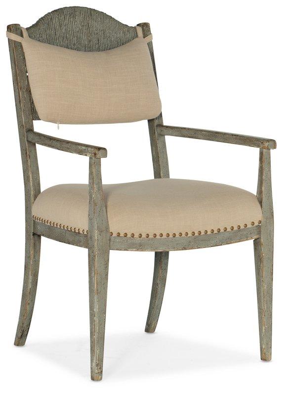 Hooker Furniture Alfresco Aperto Rush Arm Chair - 2 per carton/price ea