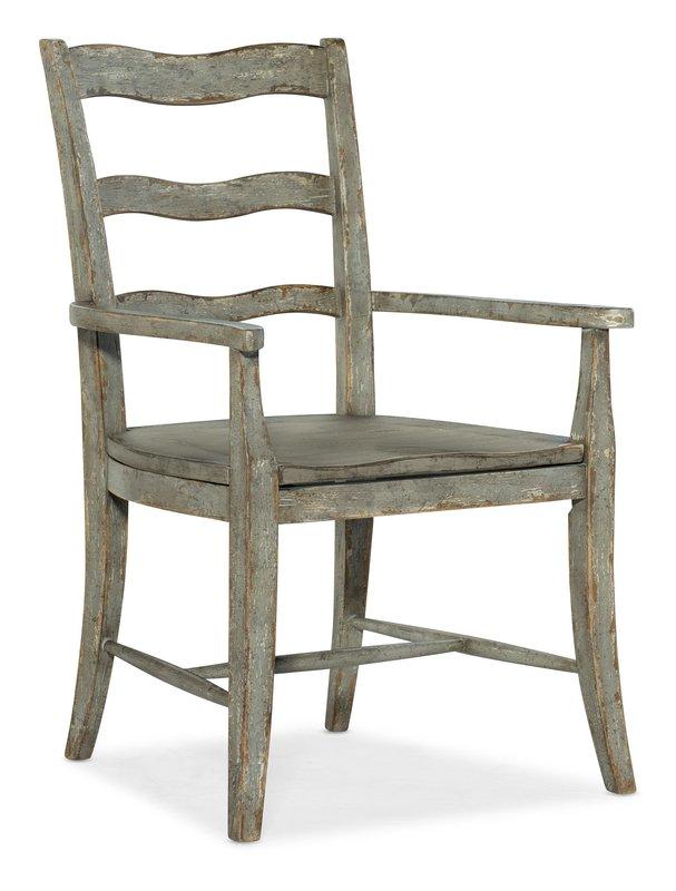 Hooker Furniture Alfresco La Riva Ladder Back Arm Chair - 2 per carton/price ea
