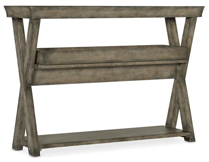 Hooker Furniture Alfresco Pertuso Tray Top Consulate Table