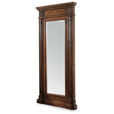 Hooker Furniture Floor Mirror w/Jewelry Armoire Storage